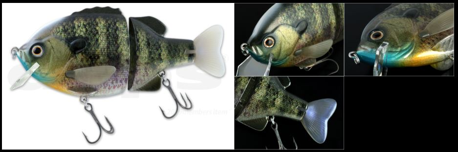 bulldoze jr real blue gill details
