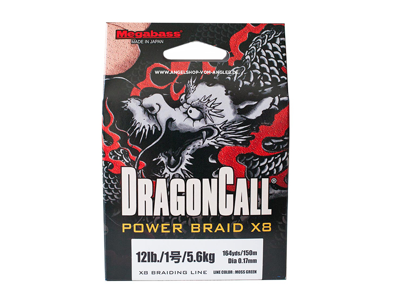 DRAGON CALL POWER BRAID X8