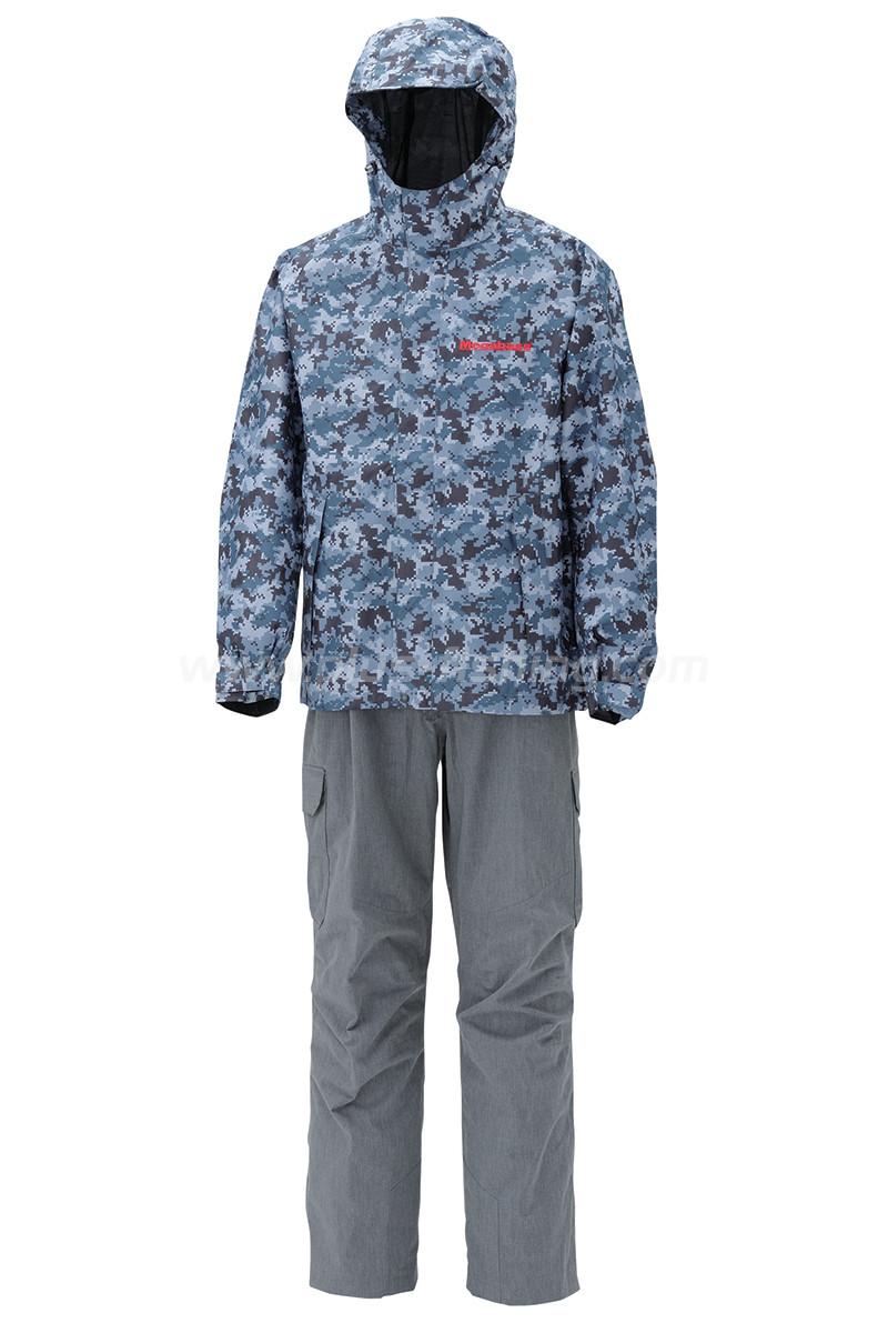 Degicamo rain suits apparel megabass for Rain suits for fishing