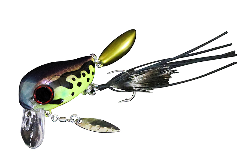 3668 Jackall Micro Tappy Floating Lure Tonosamagaeru