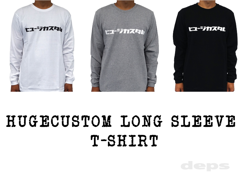 HUGECUSTOM LONG SLEEVE T-SHIRT
