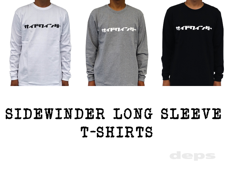 SIDEWINDER LONG SLEEVE T-SHIRTS