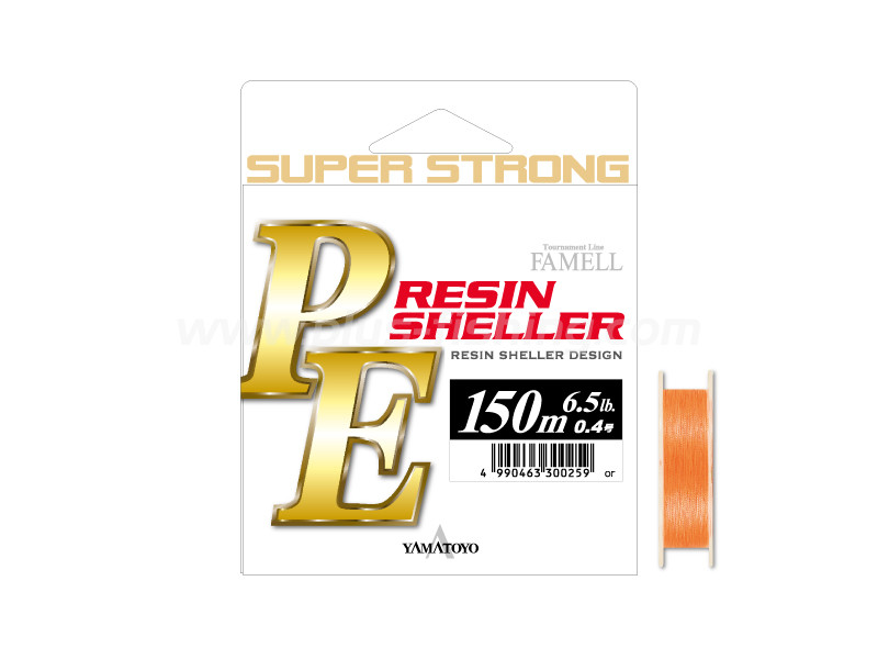 PE RESIN SHELLER 150M ORANGE | 6.5LB(NO.0.4)