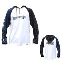 HOODED LONG SLEEVE T-SHIRTS MODEL4 | White-L