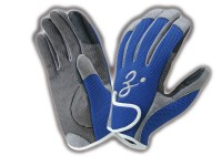 ZENAQ 3-D SHORT GLOVE | BLUE L