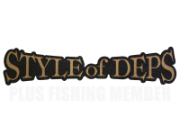 BOAT DECK STICKER | STYLE OF DEPS – LARGE – GOLD