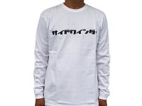 SIDEWINDER LONG SLEEVE T-SHIRTS | WHITE-M