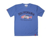 O.S.P DOLIVE MANIA DRY T-SHIRTS MODEL USA | HEATHER/BLUE-XL