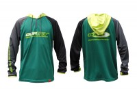 HOODED LONG SLEEVE T-SHIRTS MODEL4 | Green-L