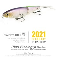 NEW SWEET KILLER - Plus Fishing Member 2021